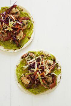Baja-Style Shrimp Tacos from familycircle.com #myplate #shrimp