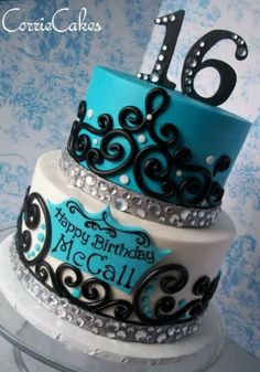 Blue jeweled cake, want! Change the name though!