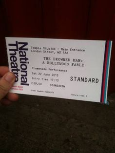 MAKING THE MARROW - REVIEW - The Drowned Man and the Delighted Spectator: Punchdrunk Review  #ImmersiveTheatre #Punchdrunk #DrownedMan