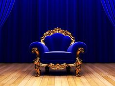 A glamourous #CobaltBlue throne anyone?