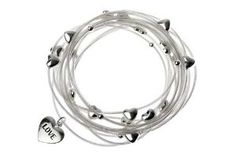 Silver Heart Design Bracelet: Amazon.co.uk: Jewellery Semi Formal Dresses, Of Brand, Bracelet Designs, Love Heart, Bracelets, Silver, Jewellery, Christmas 2015, Hearts