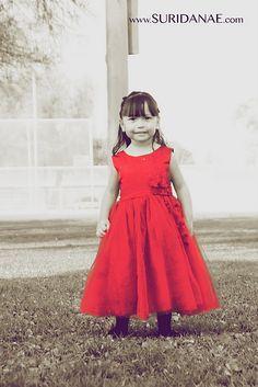 Suri Danae Photography  Cute Red Dress!