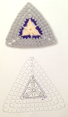 Transcendent Crochet a Solid Granny Square Ideas. Inconceivable Crochet a Solid Granny Square Ideas. Baby Afghan Crochet Patterns, Crochet Square Blanket, Crochet Bunting, Crochet Square Patterns, Crochet Motifs, Crochet Blocks, Crochet Diagram, Crochet Chart, Crochet Squares
