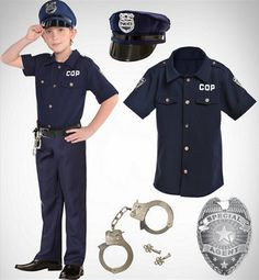 Easy diy kids cop costume pinterest sewing diy costumes and make your boys costumes out of costume accessories solutioingenieria Images