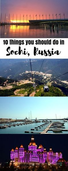 In this post, I'll tell you about a beautiful Russian city Sochi and 10 best things to do in Sochi in summer and in winter.