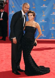 Eva Longoria and Tony Parker - Celebrity Couples with Extreme Height Differences - Photos