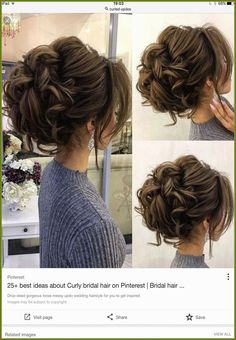 Hair tutorial: how to do quick & easy, side bun hairstyles for everyday, prom & wedding Two cute updo hairstyles for long or medium hair Hair tutorial: how to do quick & easy, side bun hairstyles for Up Dos For Medium Hair, Medium Hair Styles, Curly Hair Styles, Hair Medium, Medium Curly, Long Curly, Short Styles, Cute Hairstyles Updos, Elegant Hairstyles
