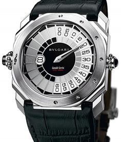 Gérald Genta Octo Répétition Minutes Retro by Bulgari Stylish Watches, Luxury Watches For Men, Aftershave, Fine Watches, Cool Watches, Gerald Genta, Luxury Gifts For Men, Bvlgari Watches, Mens Toys