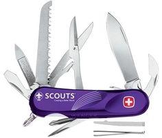 SCOUT S-18 Exclusiva para SCOUTS (opcion de personalización) 13 Herramientas
