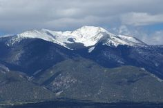 Wheeler Peak, Taos NM..........home