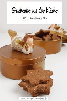Diy Weihnachten, Biscotti, Projects To Try, Breakfast, Desserts, Candy, Kitchens, Simple, Upcycling