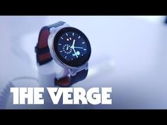 Alcatel Onetouch Watch hands-on — CES 2015 - YouTube