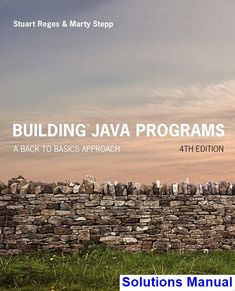 50 best solutions manual download images on pinterest in 2018 building java programs a back to basics approach edition fandeluxe Images