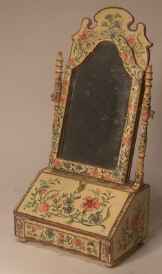 Queen Anne Dressing Table Mirror by Janet Reyburn