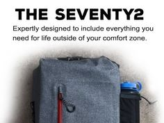 The : The world's smartest survival kit. Designed by survival experts to give you everything you need to make it through an emergency. Bug Out Kit, Survival Backpack, Comfort Zone, Outdoor Gear, Survival Kits, Shtf, Dear Santa, Edc, Fundraising