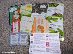 See the World in PINK: August 2015 Beauteque Mask Maven - Mask Subscription Review