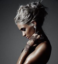 Trendy Gray Hair