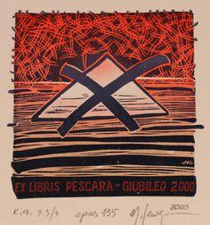 Ex Libris by Malgorzaty Seweryn for Pescara Giublioo - 2000
