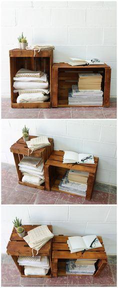 Cajas de fruta, caja de madera, cajas de madera, wood box, caja reciclada, reciclaje creativo, caja de fruta, fruit wood box