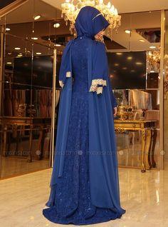 Haren Soirée - Saxe, Tenue de Soirée. Modanisa votre magasin de mode islamique modeste en ligne pour les femmes voilées. Commencez votre achat.