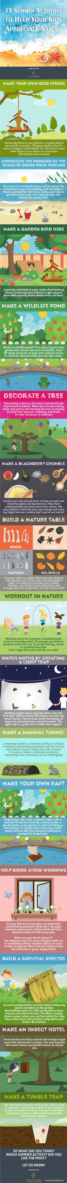 Fun, hands-on nature exploration activities your kids can do this summer!