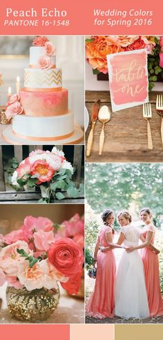 Colores para tu #boda 2016 #colors2016 #boda2016 #bodaprimavera #primavera