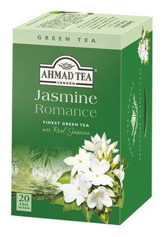 Ahmad Tea | Our Teas | Jasmine Romance