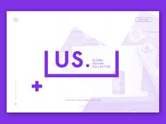 Playing around with branding and design for the new &us website. Moment of madness!   Check out attachments.