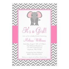 free printable baby shower invitations for a girl - Google Search