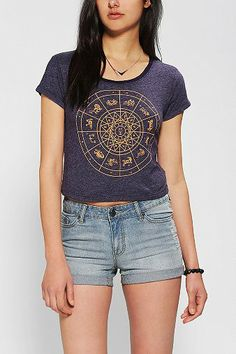 Truly Madly Deeply Circular Celestial Tee #UrbanOutfitters