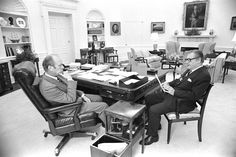 Gerald Ford in the Oval Office