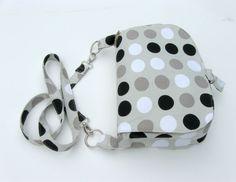 Bag PDF sewing pattern and tutorial Satchel by PaulStreetShop