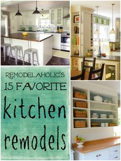 Best of Remodelaholic | Kitchen Remodels #remodeling #kitchen #budget Remodelaholic.com #kitchen #DIY #remodel #update