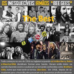 O Blog do JF: Os inesquecíveis irmãos Bee Gees