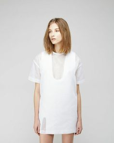 Jacquemus, La Robe Col U + Le Tee Shirt Long Moustique