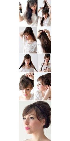 D.I.Y Hair Style Braid For Long Hair - oBaz