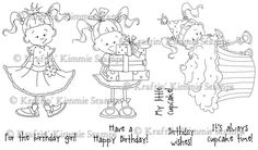 Birthday Lulu - $23.99 : Kraftin Kimmie Stamps
