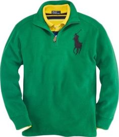 Polo Ralph Lauren Boys French Rib Half-Zip