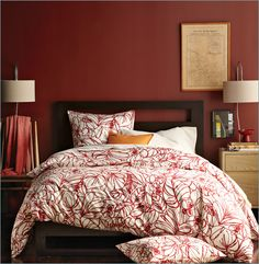 hmmm...maybe it's time to change the bedroom to red.