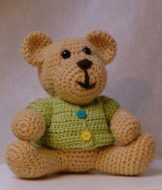 Teddy Bear ~ Amigurumi Free Download Pattern