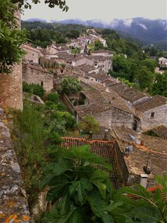 "Ménerbes. One of the official ""Most beautiful villages in France."""