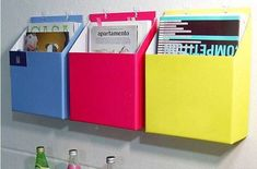 home/office storage box,  hanging on wall, paper DIY opp for magazine book  freeshipping wholesale $28.00
