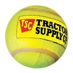 Can't get enough of these Tractor Supply Tuff Tennis Balls, only .99!