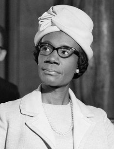 """The emotional, sexual, and psychological stereotyping of females begins when the doctor says, 'It's a girl'"" -Shirley Chisholm"