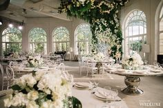 WedLuxe – A French Chic Wedding With A Circular Floral Wall | Photography by: Wedmarka Follow @WedLuxe for more wedding inspiration!