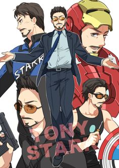 """Tony Stark"" by yukkoyy Marvel Universe - Anime Characters Epic fails and comic Marvel Univerce Characters image ideas tips Marvel Dc Comics, Heros Comics, Marvel Fan, Lego Marvel, Marvel Heroes, Captain Marvel, Marvel Avengers, Captain America, Super Anime"