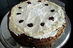 German Carrot Cake  sorry -- my translation might not be perfect, I just…