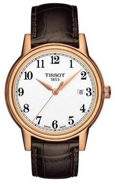 eaa1ae7f0f0 Tissot Men s Carson Swiss Quartz Watch