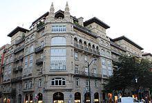 Las Casas de Ramón de la Sota constituyen un gran edificio o conjunto de casas ubicadas en la Gran Vía de Bilbao. Es considerado el conjunto arquitectónico más notable en todo el ensanche bilbaíno. Bien de Interés Cultural desde 1977.