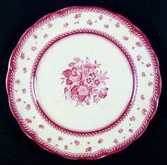 Dovedale-Pink by Grindley Description: PINK LAUREL, FLOWERS RIM & CENTER